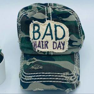 KBETHOS Vintage | Bad Hair Day Camo Hat